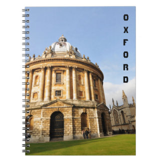 Cadernos Biblioteca em Oxford, Inglaterra