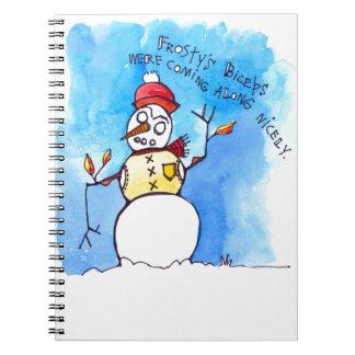 Cadernos Bíceps de Frostys