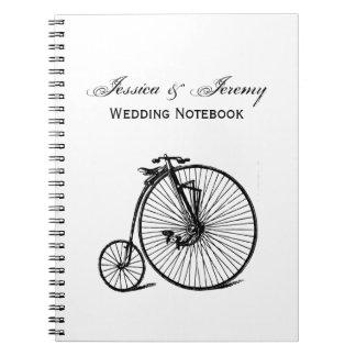 Cadernos Bicicleta da bicicleta do Velocipede de Steampunk