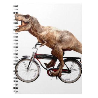 Cadernos Bicicleta da equitação de Trex