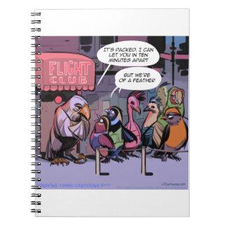 Cadernos Birds of a Feather engraçado
