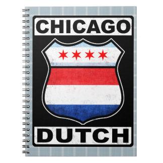 Cadernos Bloco de notas americano holandês do protetor de