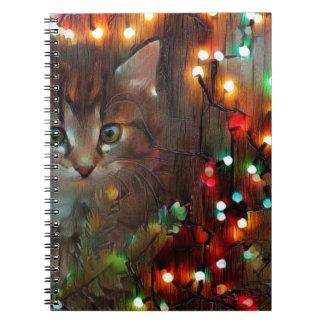 Cadernos Boas festas do gatinho