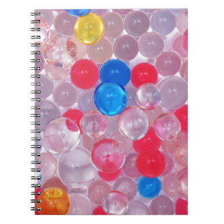 Cadernos bolas da geléia