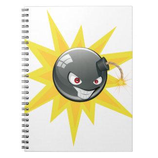 Cadernos Bomba redonda má 2