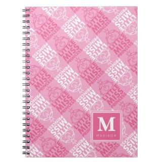 Cadernos Bonito no teste padrão cor-de-rosa | adicione seu