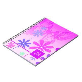 Cadernos Borboletas 2 da flor do duende