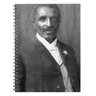 Cadernos Botânico do cientista do escultor de George