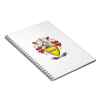 Cadernos Brasão da crista da família de Stuart
