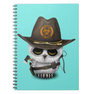 Cadernos Caçador do zombi da coruja do bebê