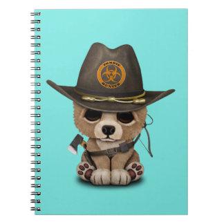 Cadernos Caçador do zombi de Cub de urso do bebê
