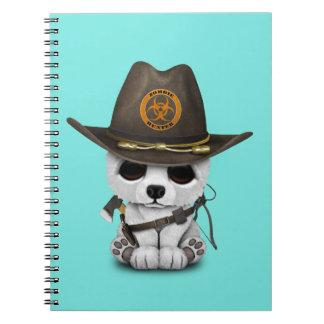 Cadernos Caçador do zombi do urso polar do bebê