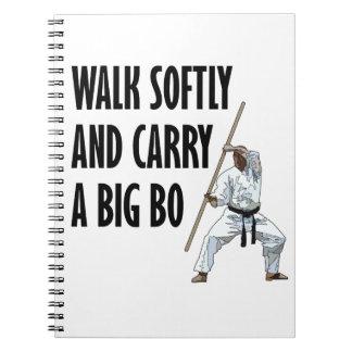 Cadernos Caminhada macia BO
