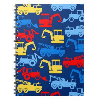 Cadernos Caminhões do trabalho