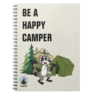 Cadernos Campout americano do rick | da guarda florestal