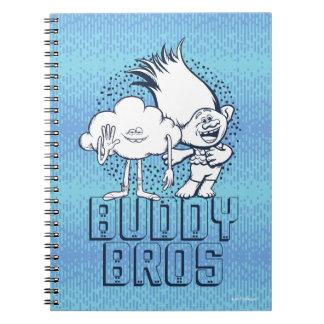 Cadernos Cara da nuvem dos troll | & ramo - amigo Bros