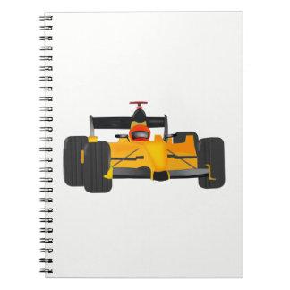 Cadernos carro de corridas