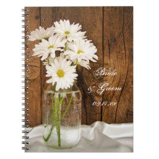 Cadernos Casamento do celeiro do país das margaridas
