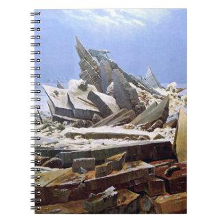 Cadernos CASPAR DAVID FRIEDRICH - o mar do gelo 1824
