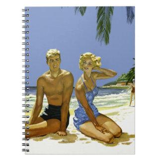 Cadernos Cena da praia