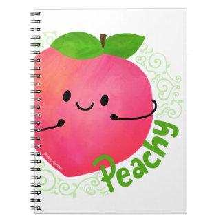 Cadernos Chalaça positiva do pêssego - Peachy