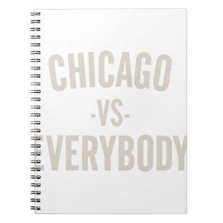 Cadernos Chicago contra todos