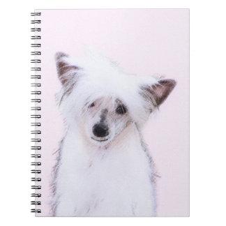 Cadernos Com crista chinês (Powderpuff)
