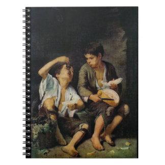 Cadernos Comendo a fruta 1650