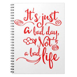 Cadernos Confiança, citações do sucesso da vida da atitude