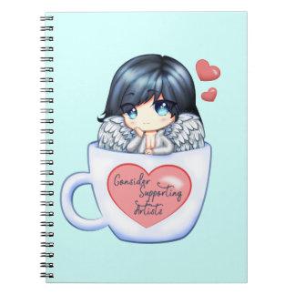 Cadernos Considere apoiar artistas