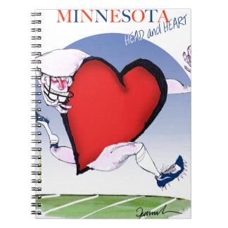 Cadernos coração principal de minnesota, fernandes tony