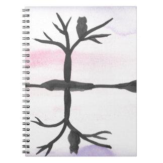 Cadernos Coruja refletida