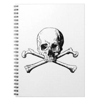 Cadernos Crânio dos Crossbones