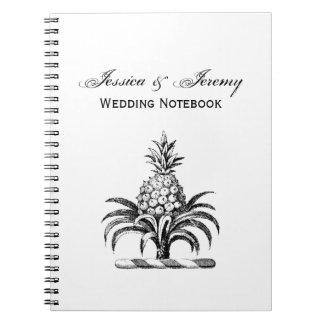 Cadernos Crista heráldica formal da brasão do abacaxi