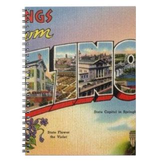 Cadernos Cumprimentos de Illinois