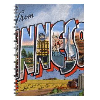 Cadernos Cumprimentos de Minnesota