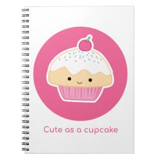 Cadernos Cupcake, tão bonito quanto um cupcake