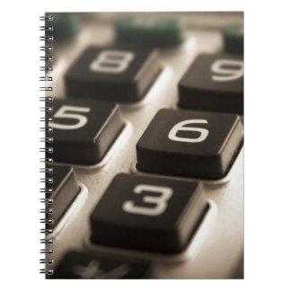 """Cadernos Da """"Fim-Acima calculadora """""""