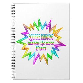 Cadernos Dança quadrada mais divertimento