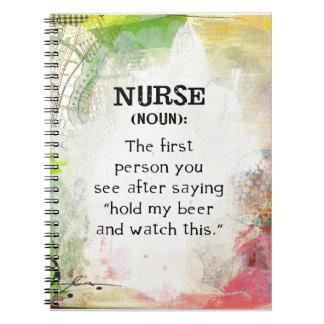 Cadernos Definição de uma enfermeira