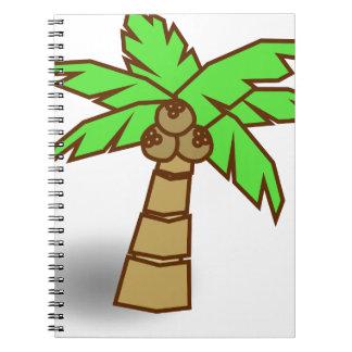 Cadernos Desenho da palmeira