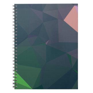 Cadernos Design abstrato & limpo de Geo - maravilhas