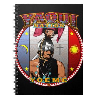 Cadernos Design do dançarino dos cervos de Yaqui Yoeme