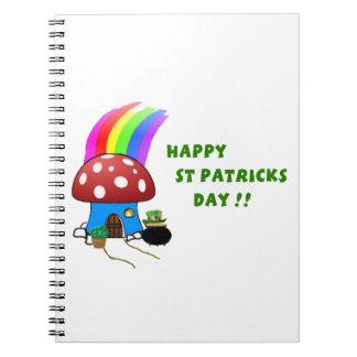 Cadernos Dia de São Patrício