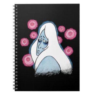 Cadernos Diamante azul
