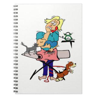 Cadernos Dona de casa