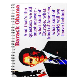 Cadernos E aquela é a pergunta - Barack Obama