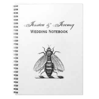Cadernos Emblema heráldico formal da brasão da abelha do