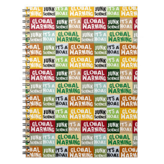 Cadernos Embuste do aquecimento global
