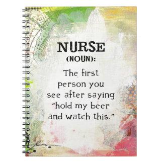Cadernos Enfermeira (substantivo)